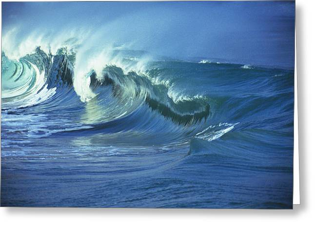 Vince Greeting Cards - Rough Seas Greeting Card by Vince Cavataio - Printscapes