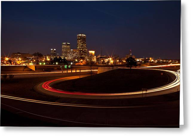 Arkansas Greeting Cards - Round The Bend Greeting Card by Jonas Wingfield