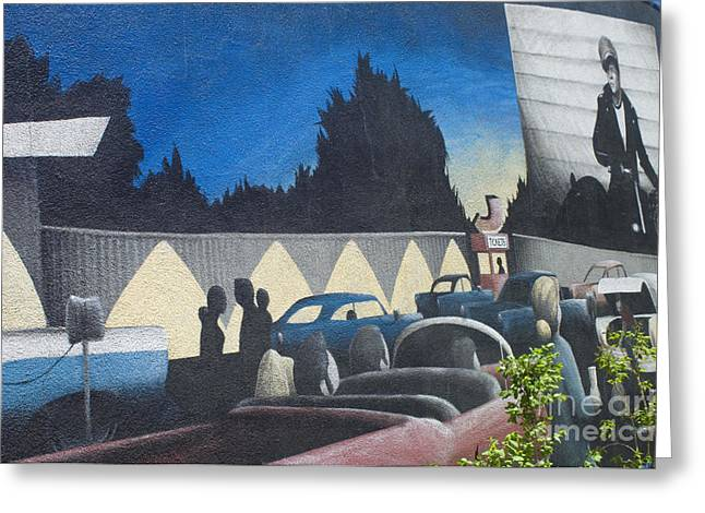 Jay Leno Greeting Cards - Route 66 Brandon Mural Greeting Card by Bob Christopher