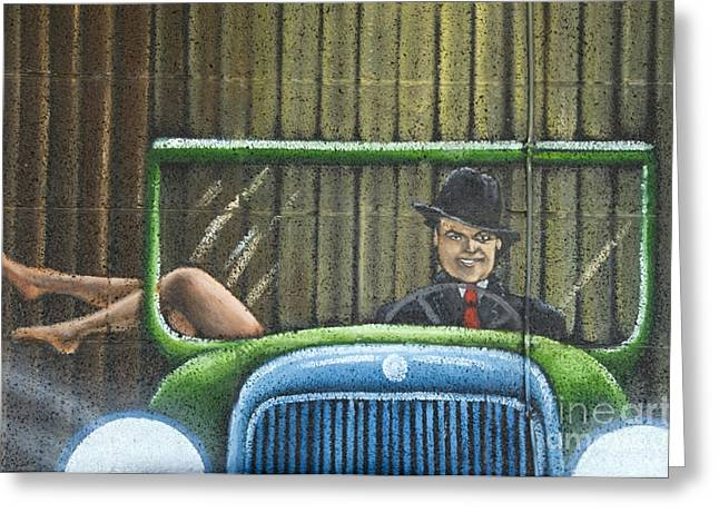 Jay Leno Greeting Cards - Route 66 Fun and Games Greeting Card by Bob Christopher