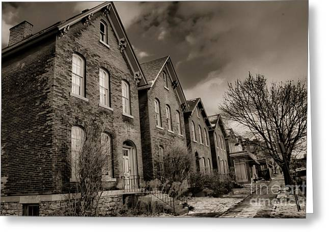 Surreal Photography Greeting Cards - Rows Greeting Card by Chuck Alaimo