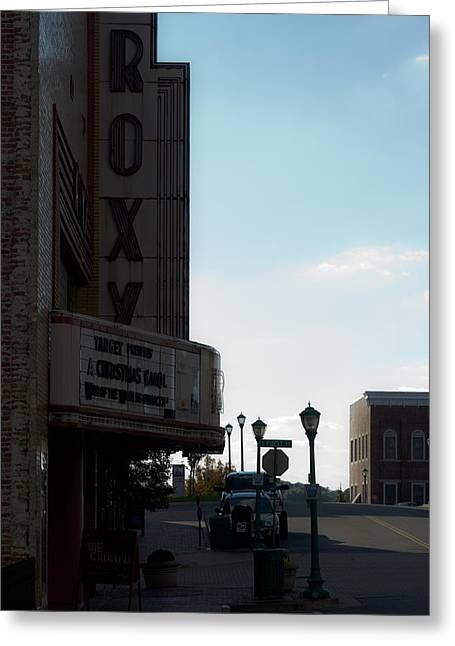 Franklin Tennessee Greeting Cards - Roxy Regional Theater Greeting Card by Ed Gleichman