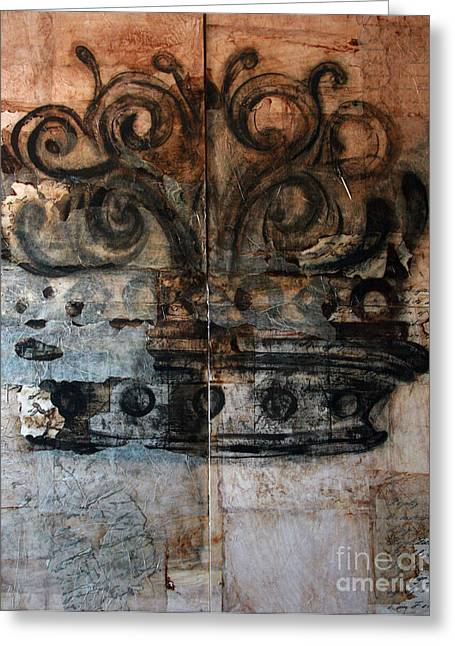 Royalty Mixed Media Greeting Cards - Royal Hieness Greeting Card by Forever Royalty
