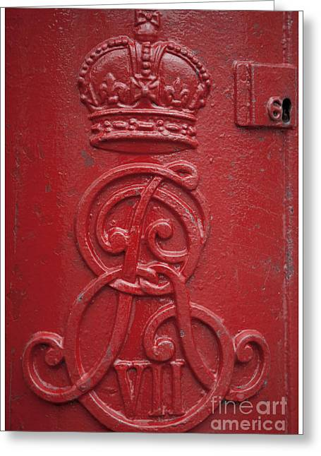 Postal Greeting Cards - Royal Mailbox Greeting Card by Heiko Koehrer-Wagner