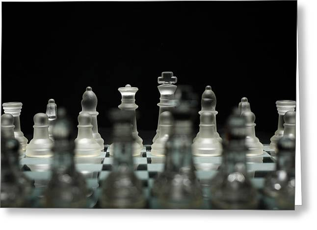 Chess King Greeting Cards - Royal Perspective 2 Greeting Card by David Paul Murray
