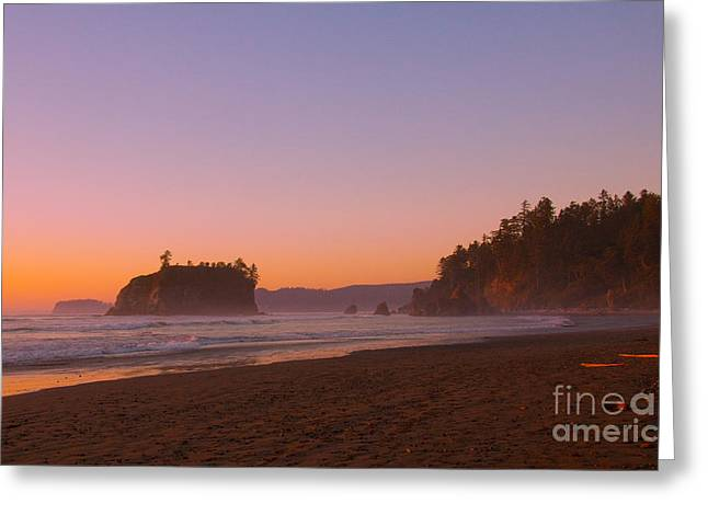 Ocean Greeting Cards - Ruby Beach Greeting Card by Dana Kern