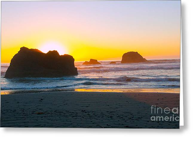 Pacific Ocean Prints Greeting Cards - Ruby Beach II Greeting Card by Dana Kern