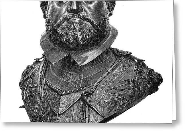 RUDOLF II (1552-1612) Greeting Card by Granger