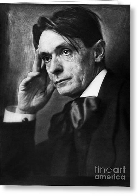 Reformer Photographs Greeting Cards - Rudolf Steiner (1861-1925) Greeting Card by Granger