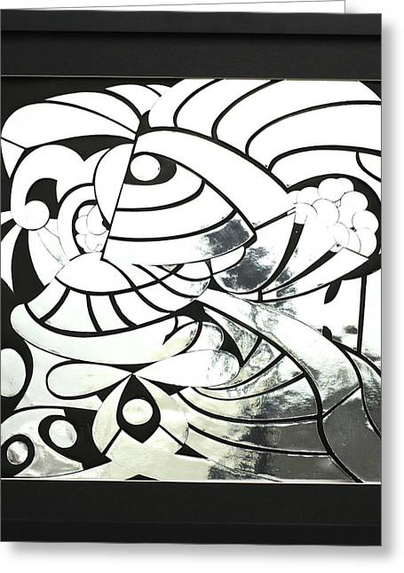 Silver Reliefs Greeting Cards - Runner Up Greeting Card by Jason Amatangelo