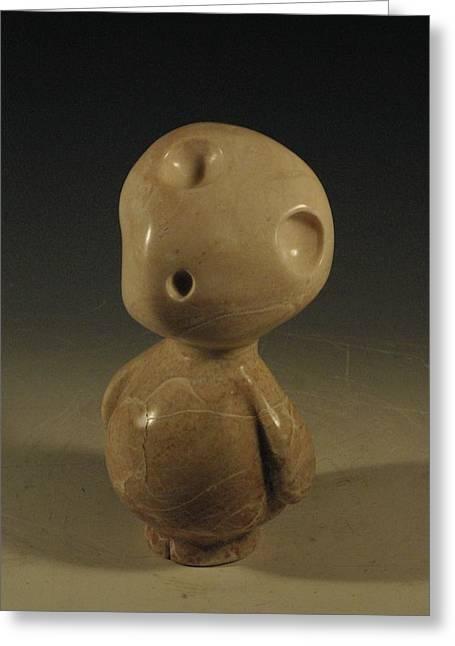 Spirit Sculptures Greeting Cards - Rupert Greeting Card by Ashly Eaton