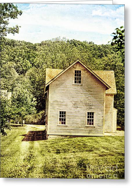 Deerfield Greeting Cards - Rural Home Greeting Card by HD Connelly
