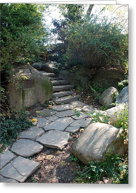 Natral Greeting Cards - Rural Steps Greeting Card by Rob Hans
