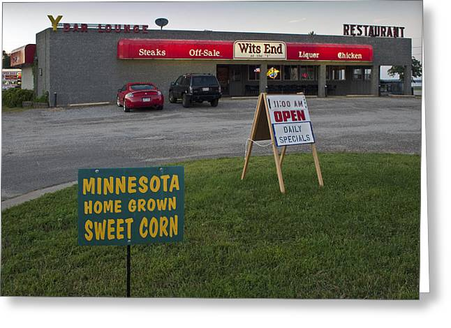 Minnesota Grown Photographs Greeting Cards - Rush hour at the Y  Greeting Card by Gary Eason