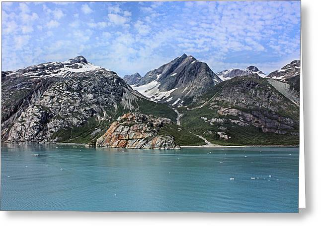 Glacier Bay Greeting Cards - Russell Island Greeting Card by Kristin Elmquist