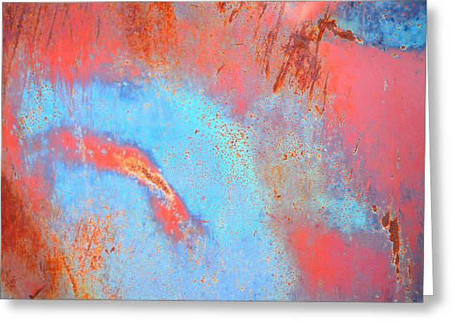 Jansson Greeting Cards - Rust Lust Greeting Card by Diane montana Jansson