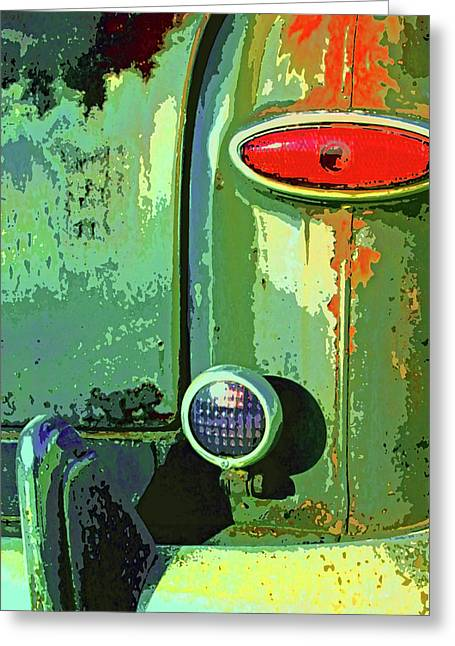 Rusted Cars Mixed Media Greeting Cards - Rust Never Sleeps Greeting Card by Dominic Piperata