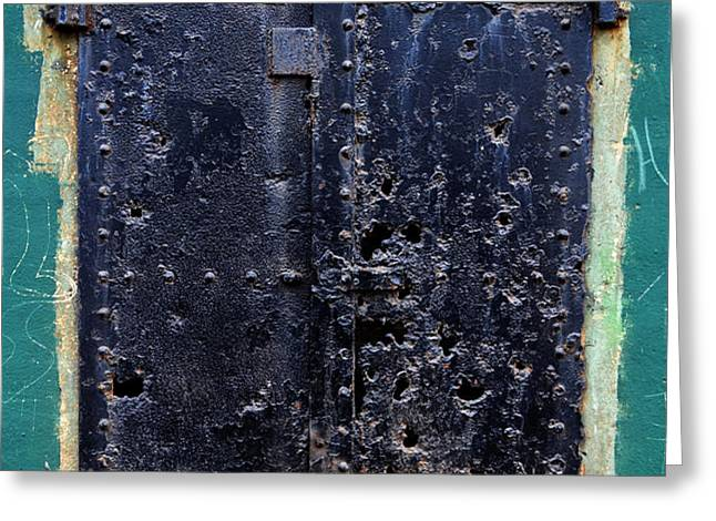Rusted Through Greeting Card by Matt Hanson