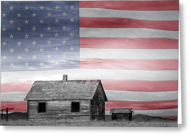 Striking Images Greeting Cards - Rustic America Greeting Card by James BO  Insogna