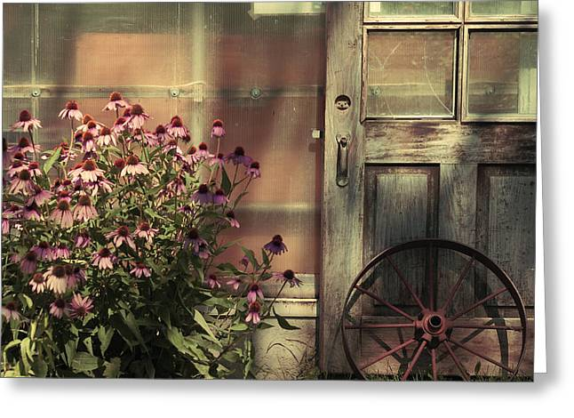 Recently Sold -  - Aimelle Prints Greeting Cards - Rustic corner Greeting Card by Aimelle