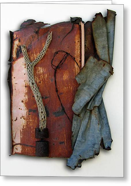 Sculpture Sculptures Sculptures Greeting Cards - Rustic Elegance Greeting Card by Snake Jagger