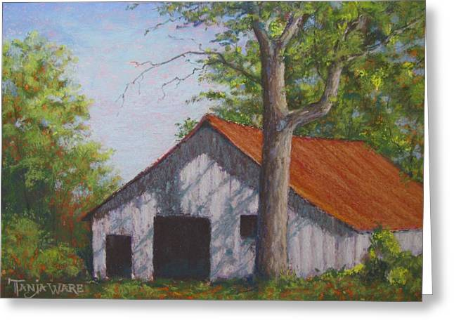 Barn Pastels Greeting Cards - Rustic Greeting Card by Tanja Ware