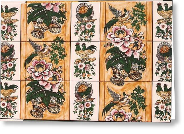 Old Ceramics Greeting Cards - Rustico Greeting Card by Paula Teresa