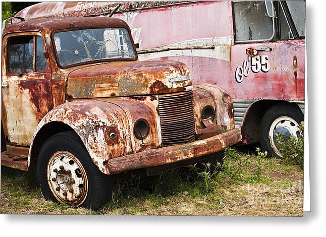 David Lade Greeting Cards - Rusty Commer  Greeting Card by David Lade