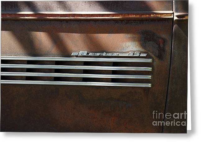 Rusty Old 1939 Chevrolet Master 85 . 5D16198 Greeting Card by Wingsdomain Art and Photography