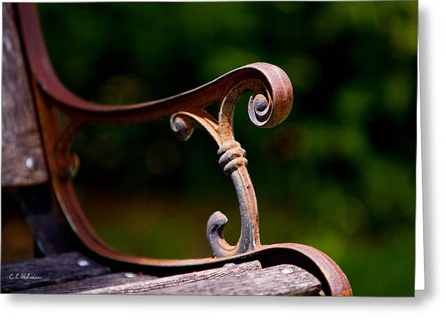 Rusty Rest Greeting Card by Christopher Holmes