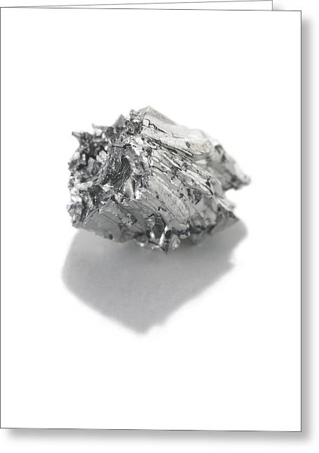 Ru Greeting Cards - Ruthenium Greeting Card by