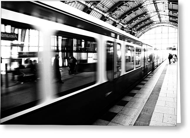 S-bahn Berlin Greeting Card by Falko Follert