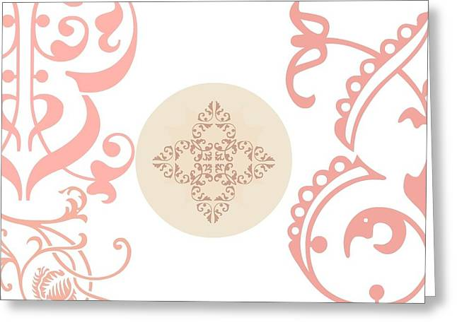 Sacred Initiation  Greeting Card by Sacred  Muse