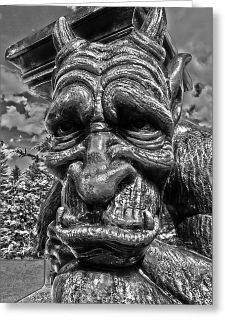 Tampa Greeting Cards - Sadness in Stone Greeting Card by Nicholas Evans