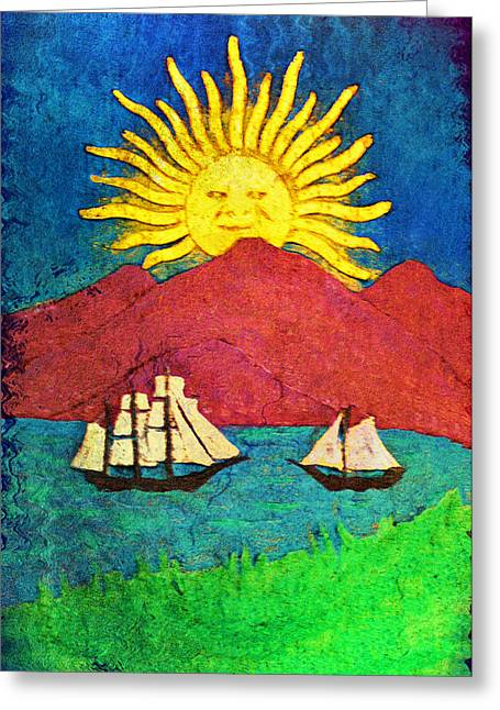 Safe Harbor Greeting Card by Bill Cannon