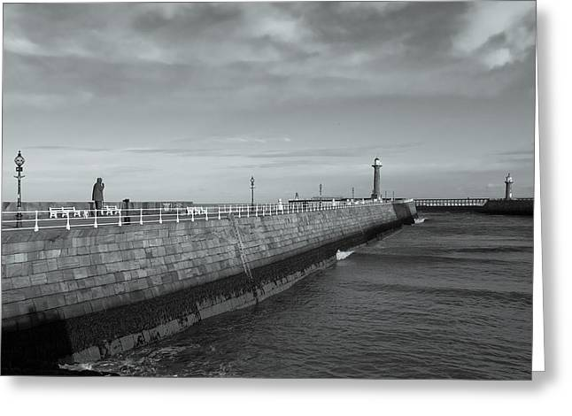 Abbey Giclee Print Greeting Cards - Safe Harbour Greeting Card by Gary Finnigan