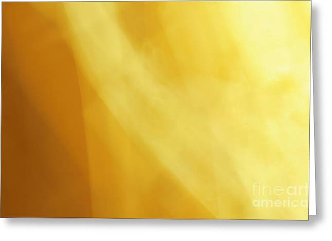 Sunset Abstract Photographs Greeting Cards - Sail The Sunset Abstract Greeting Card by Andee Design