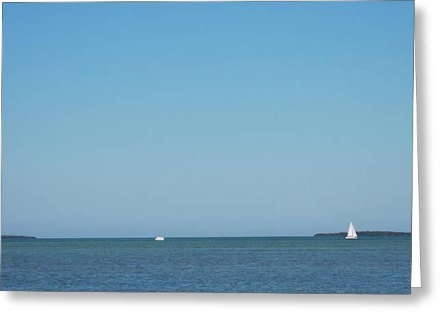 Bonnes Eyes Fine Art Photography Greeting Cards - Sailing the Keys Greeting Card by Bonnes Eyes Fine Art Photography
