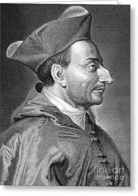 Borromeo Greeting Cards - Saint Carlo Borromeo Greeting Card by Granger