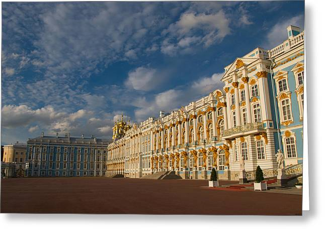 Cruise Ships Greeting Cards - Saint Catherine Palace Greeting Card by David Smith