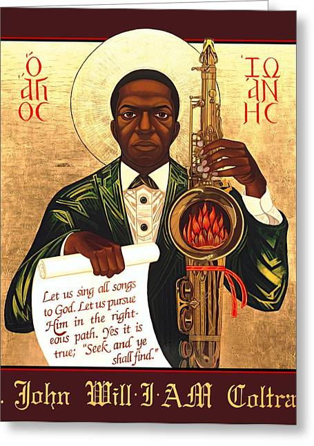African-americans Greeting Cards - Saint John the Divine Sound Baptist Greeting Card by Mark Dukes