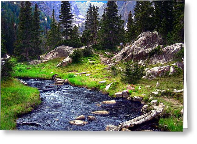 Luminist Greeting Cards - Saint Vrain River Greeting Card by Ric Soulen