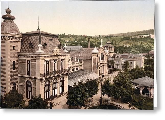 Besancon Greeting Cards - Salt Baths at Besancon - Doubs - France Greeting Card by International  Images