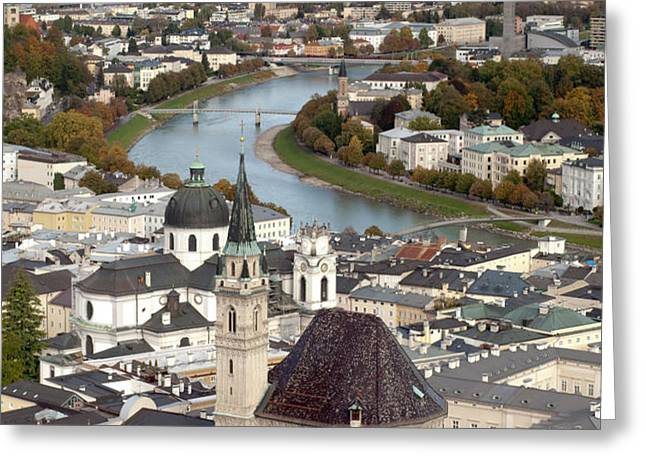 Salzburg Greeting Card by Andre Goncalves