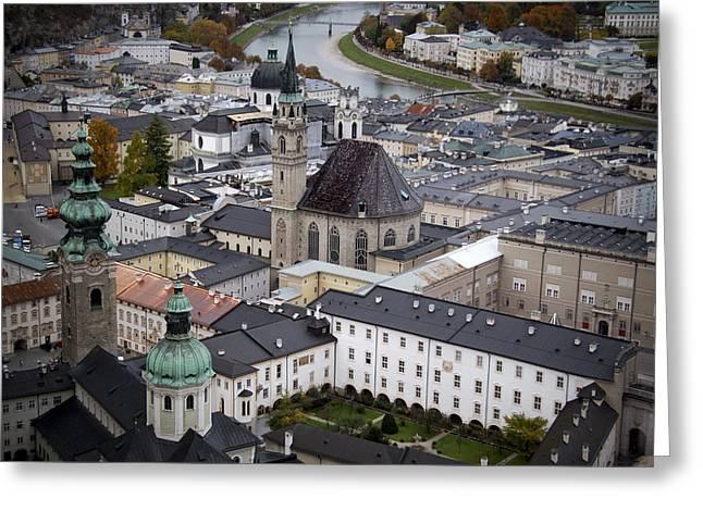Salzburg  Greeting Card by Anthony Citro