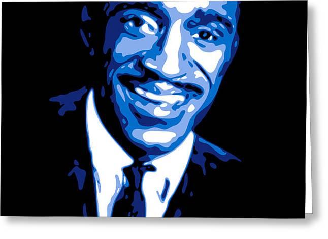 Sammy Davis Greeting Card by DB Artist
