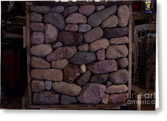 Fieldstone Greeting Cards - Sample Board Greeting Card by The Stone Age