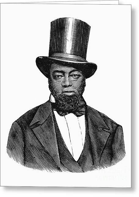 Abolition Greeting Cards - Samuel D. Burris Greeting Card by Granger