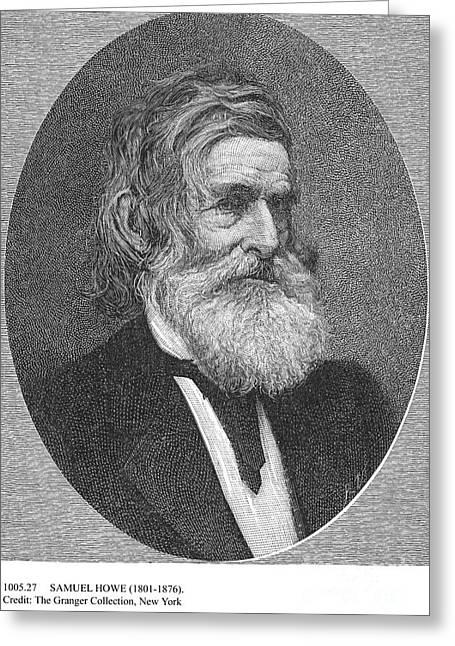 Manhood Greeting Cards - Samuel Howe (1801-1876) Greeting Card by Granger