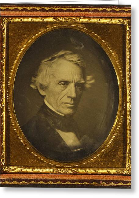 Samuel Greeting Cards - Samuel Morse, Us Inventor Greeting Card by Library Of Congress